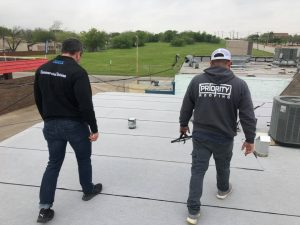 Dallas commercial roofing company inspection specialists